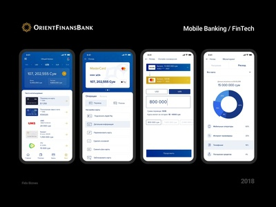 Mobile Banking for Orient Finans Bank