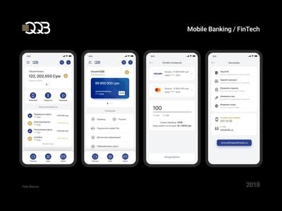 Mobile Banking for Qishloq Qurulish Bank