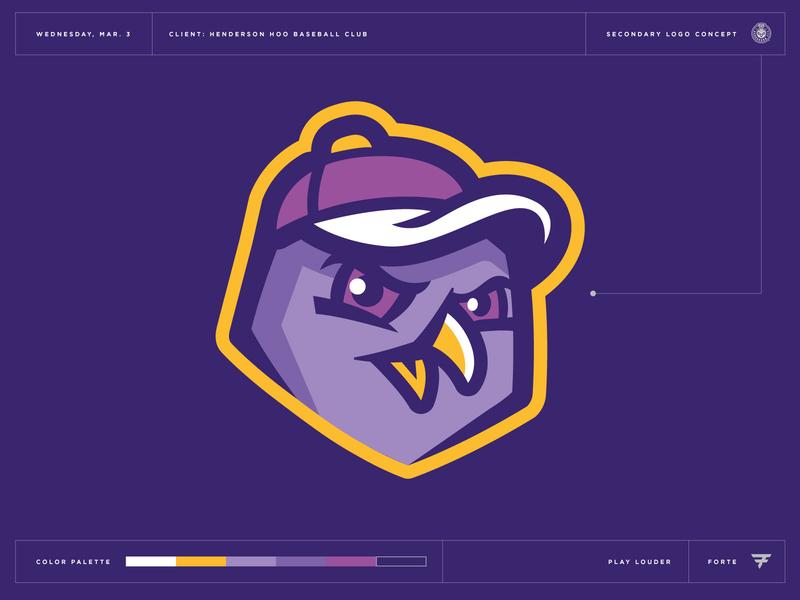 What Could Have Been: Henderson Hoo crest roundel bird owl nevada henderson las vegas mascot milb baseball illustration design vector branding brand sport logo sports