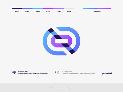 2021 - New Year. New Brand. monogram logo monogram lettermark ocean badge typography icon design illustration vector branding brand logo