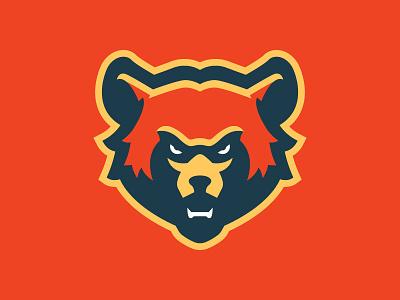 Alaska Grizzlies Secondary Mark grizzlies grizzly mascot brand logo sports sport alaska bears bear hockey