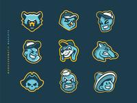 Monochromatic Mascots