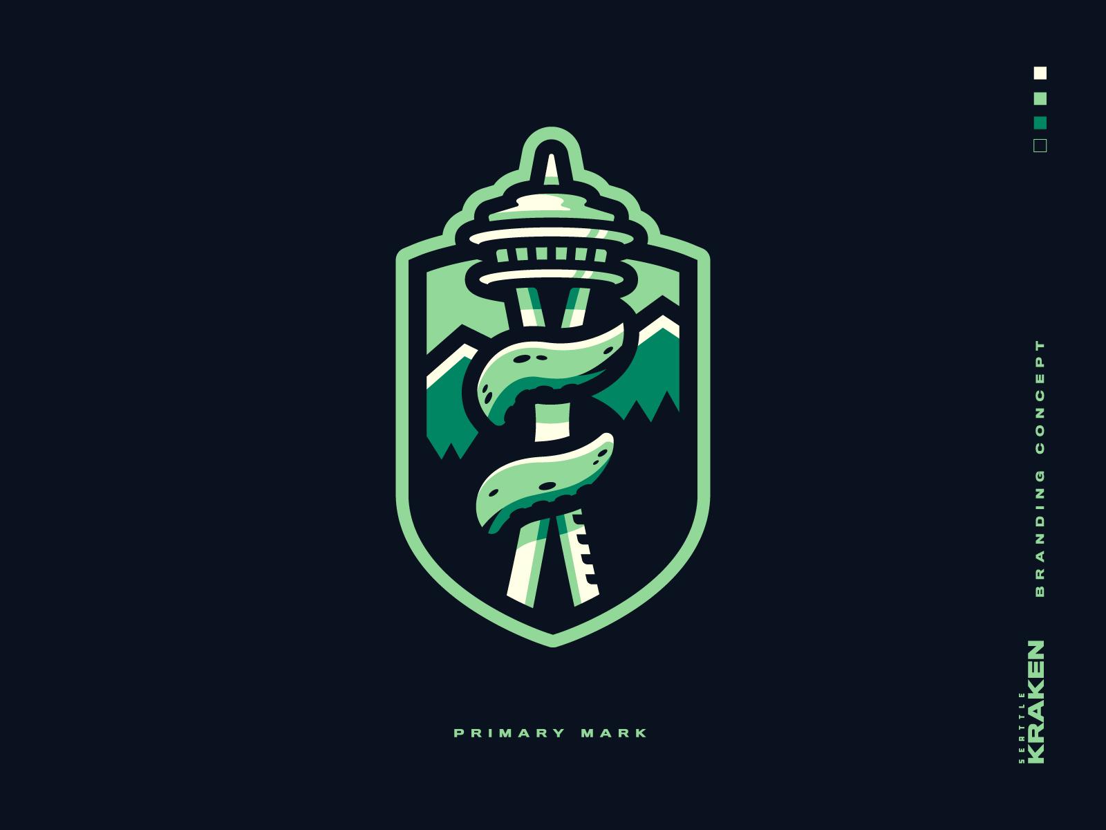 Seattle Kraken Branding by Grant O'Dell for Forte on Dribbble