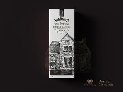 whisky illustration drawning packaging whiskey whisky