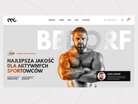 Muscle Clinic e-commerce