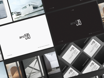 Arch _515 / 3 brandbook logotype mark sygnet minimal branding logo dark
