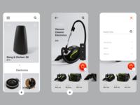 Mobile App e-commerce