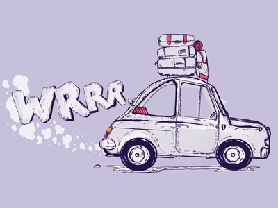 fiat toy procrate sketch illustration drawning print fiat nova fiat 500 car fiat