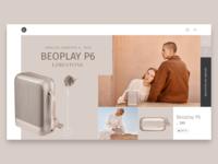 Second design exploration for an e-commerce website