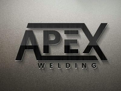 Apex Welding welding apex logo design branding graphic design logo designer vector logotype logo mark brand identity logo design illustrator logo