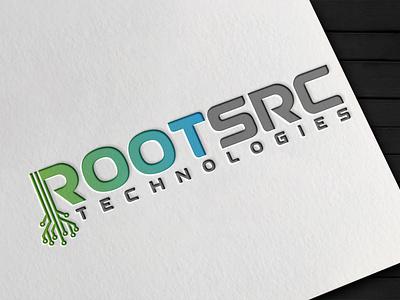 RootSrc Technologies logo design branding vector graphic design logotype logo mark logo designer logo design logo illustrator brand identity