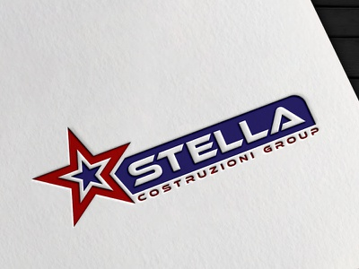 STELLA COSTRUZIONI GROUP branding logo design branding graphic design vector logotype logo mark logo designer logo design logo illustrator brand identity