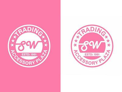 SW Trading Accessory Plaza fashion trading branding logo design branding graphic design vector logotype logo mark logo designer logo logo design illustrator brand identity