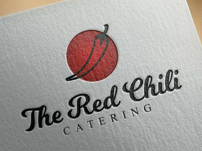 The Red Chili logo design branding graphic design vector logotype logo mark logo logo designer logo design illustrator brand identity