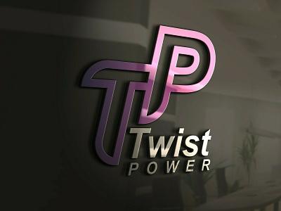 TwistPower logo design branding graphic design vector logotype logo mark logo designer logo design logo illustrator brand identity