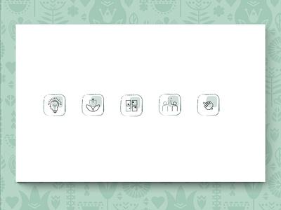 s  118 graphic design app web ui ux illustrator branding illustration vector icon icon set icon design