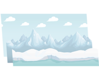 Parallax Mountains (Snowy)