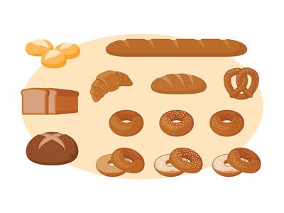 Bread icons