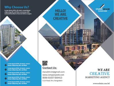 3 fold Flyer brochure design corporate flyer design graphic design flyer flyer design 3 fold flyer design