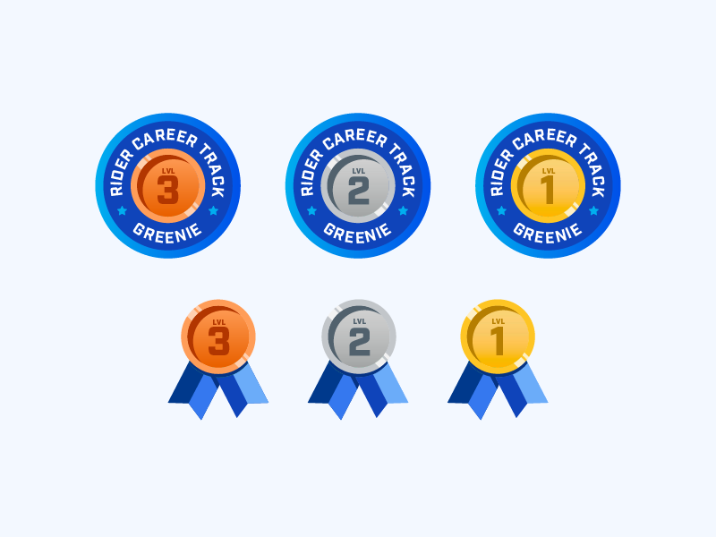 Ribbons and Badges by Christina Donald on Dribbble