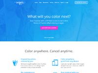 Website bluestarinspire desktop