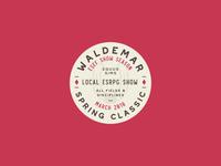 Waldemar Spring Classic Badge