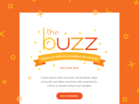 The Buzz Newsletter Email