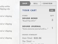 Someone's gotta design a checkout process, too.