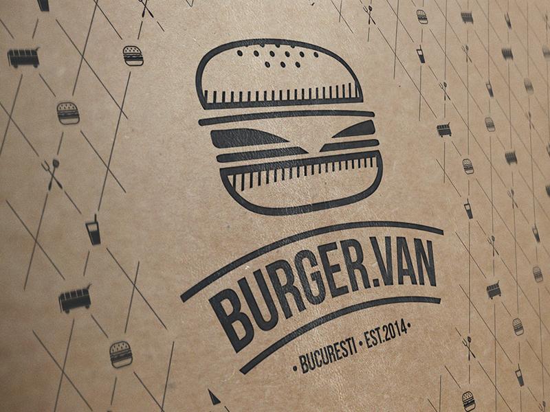 BurgerVan Bucharest Branding branding logo foodtruck burger hamburger