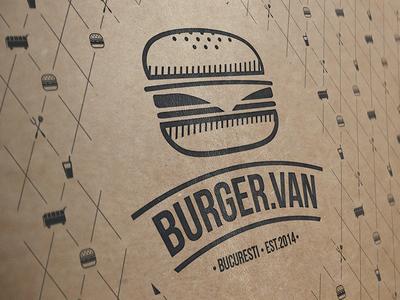 BurgerVan Bucharest Branding