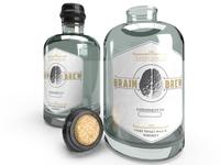 whiskey bottle label design