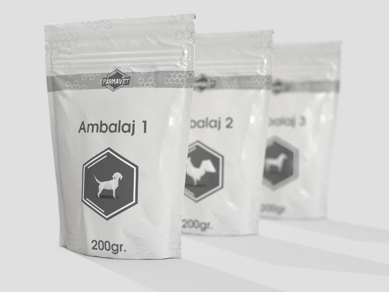 Vet Supplement Packaging concept package supplement packaging veterinary vet store pet cat dog