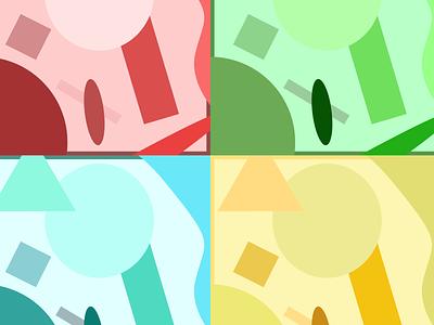 Colorpop abstract colors windows microsoft logo illustration design branding