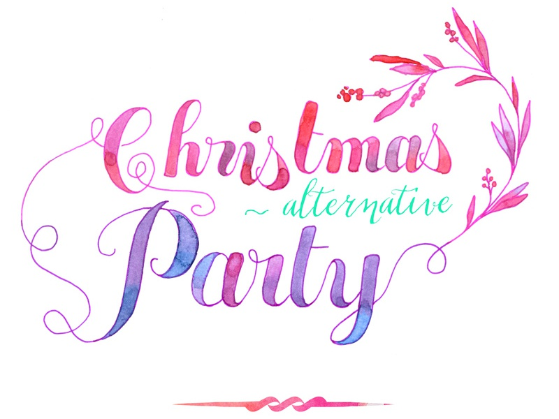 Christmas Party Invitation Card By Elise Lesueur Dribbble Dribbble