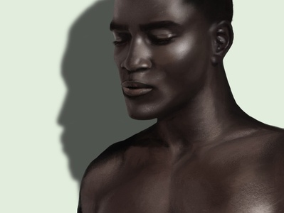 Remi portrait male procreate illustration