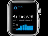 Apple Watch Project for Trōv