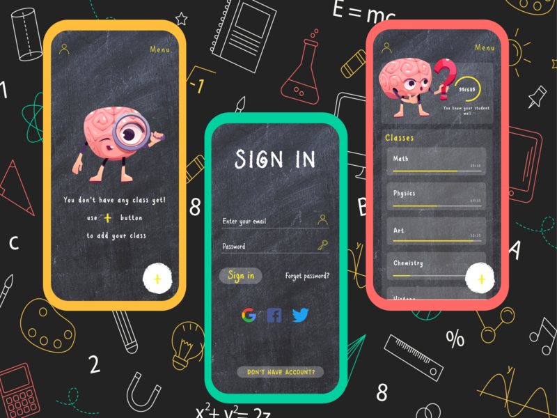 Teacher Helper illustrator ux ui xd illustration app designer app design design app app ui
