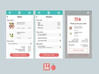 Stor mobile UI - Check out