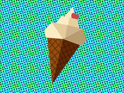 creamy icecream illustration icecream illustrator icecream illustration form illustration art vector illustration pattern adobe illustrator design flat vector illustration