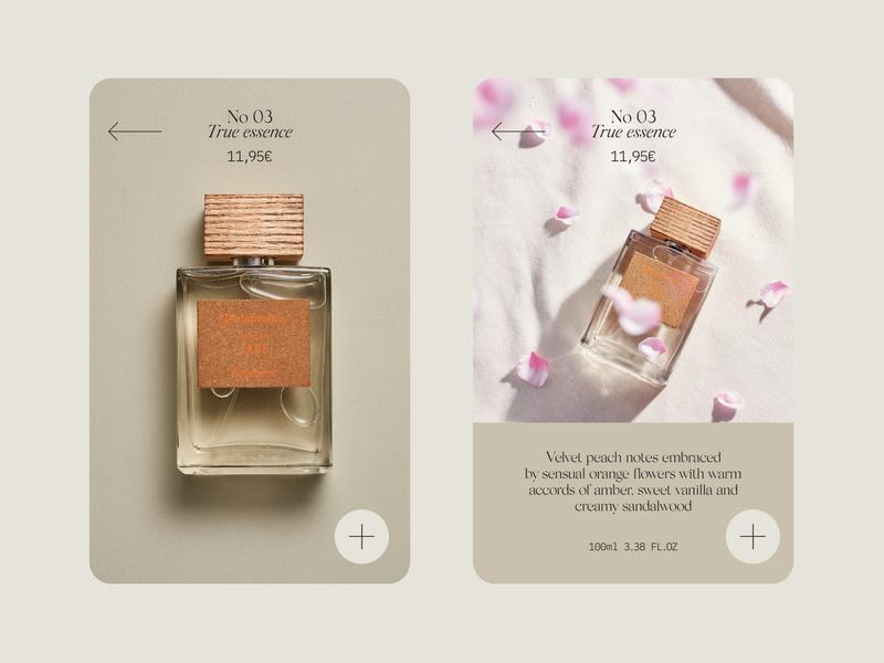 Stradivarius essence perfumery eau de toilette colonia essence scent mobile design design identity branding fashion ecommerce perfume