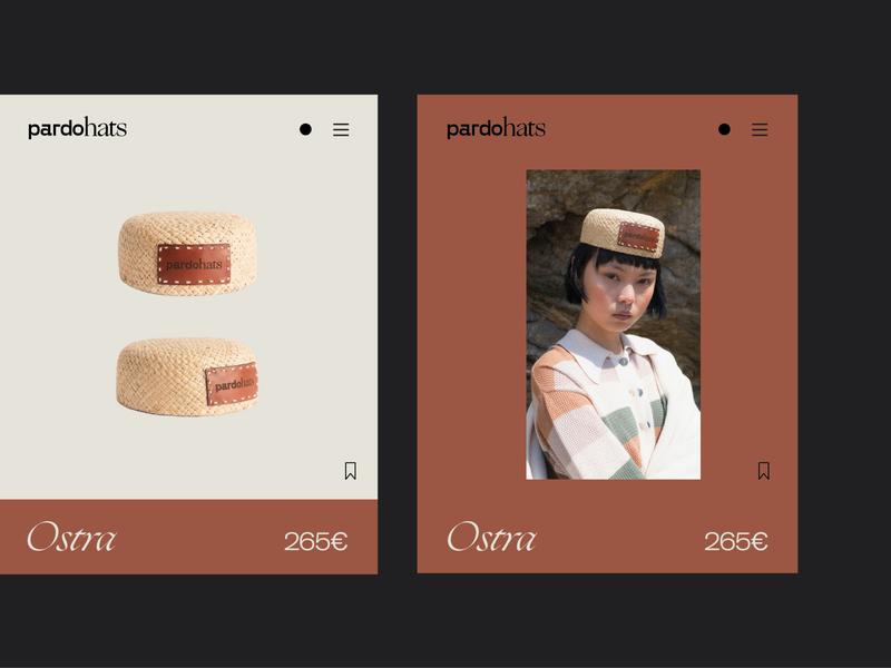 PardoHats - mobile logo mobile design ecommerce design branding design brand typography identity branding fashion hats hat