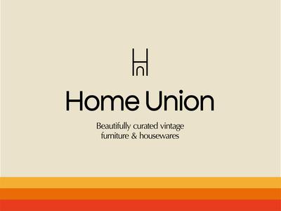 HomeUnion identity brand branding design logo product lighting interior graphic design illustration typography design website branding home furniture