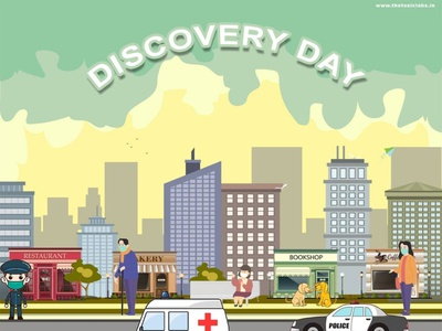 Discovery Day vector ux ui design socialmedia poster design illustration photoshop graphicdesign