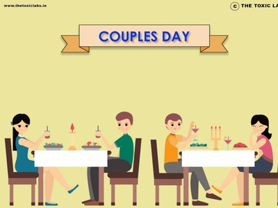 Couples Day vector ux ui design socialmedia poster design illustration photoshop graphicdesign