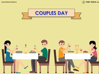 Couples Day vector ux ui design socialmedia poster design illustration photoshop graphicdesign