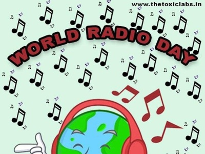 World Radio Day vector ux ui design socialmedia poster design photoshop illustration graphicdesign
