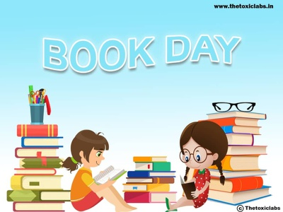 Book Day vector ui ux design socialmedia poster design photoshop illustration graphicdesign