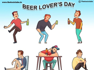 Beer's Lover's Day vector ux ui design socialmedia poster design photoshop illustration graphicdesign