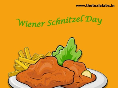 wiener Schnitzel Day vector ux ui design socialmedia poster design photoshop illustration graphicdesign