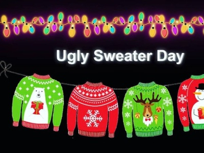 Ugly Sweater Day 🧤🧤